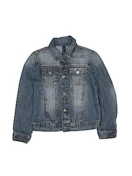 Benetton Class Denim Jacket Size 7 - 8