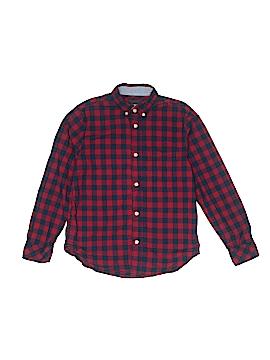 H&M L.O.G.G. Long Sleeve Button-Down Shirt Size 10 - 11