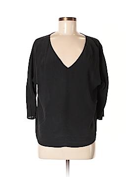 Broadway & Broome 3/4 Sleeve Silk Top Size M
