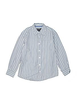 Cherokee Long Sleeve Button-Down Shirt Size M (Kids)