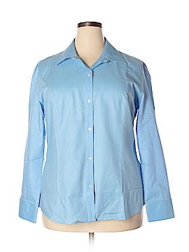 Cutter & Buck Long Sleeve Button-Down Shirt Size XXL