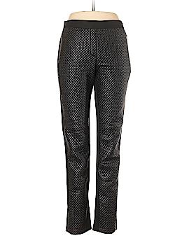 BCBGMAXAZRIA Faux Leather Pants Size L