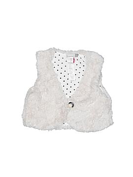 Catimini Faux Fur Vest Size X-Small (Tots)