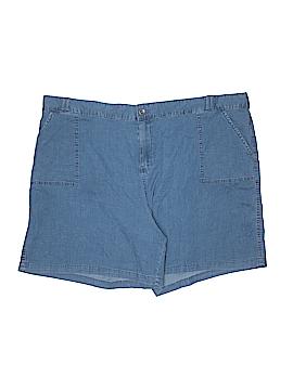Basic Editions Denim Shorts Size 3X (Plus)