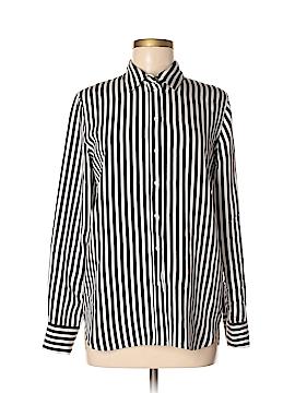 Everlane Long Sleeve Silk Top Size 2