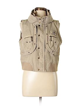 London Jean Vest Size L