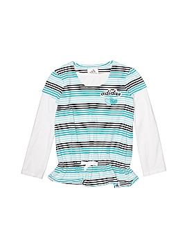 Adidas Long Sleeve T-Shirt Size 4