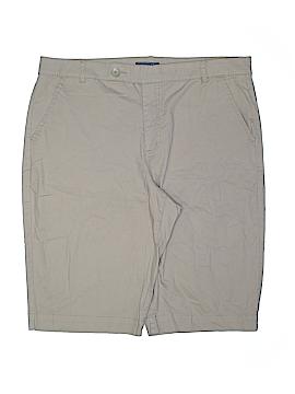 Bandolino Khaki Shorts Size 18 (Plus)