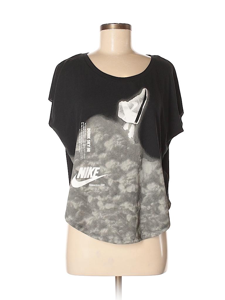 Nike Women Short Sleeve T-Shirt Size M