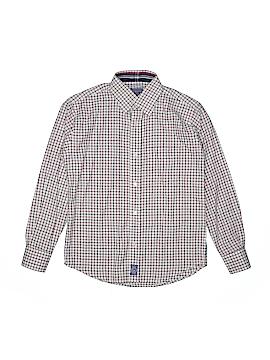 Ciamarco Long Sleeve Button-Down Shirt Size 12