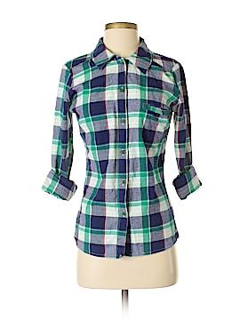 Matix Long Sleeve Button-Down Shirt Size S