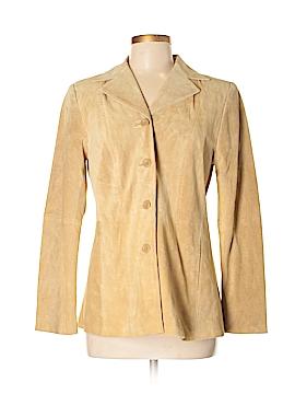 Studio by Liz Claiborne Leather Jacket Size S