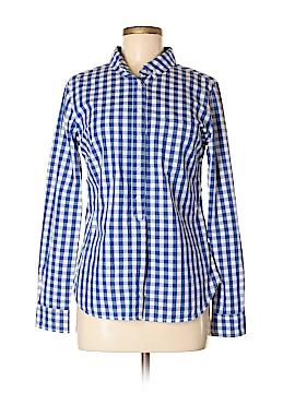 Cremieux Long Sleeve Button-Down Shirt Size S