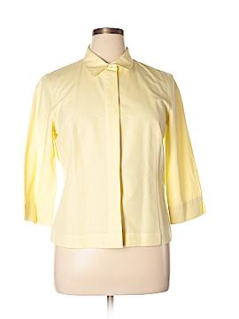 Garfield & Marks 3/4 Sleeve Button-Down Shirt Size 14