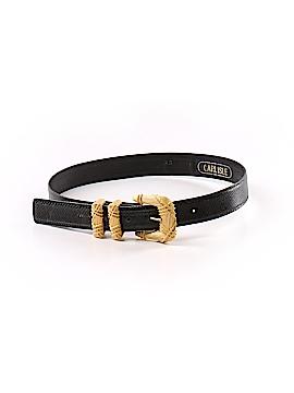 Carlisle Leather Belt Size XS