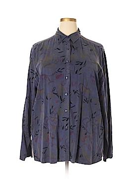 Tianello Long Sleeve Button-Down Shirt Size XL