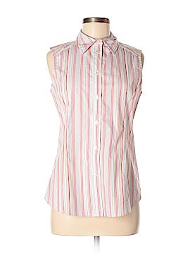 Jockey Sleeveless Button-Down Shirt Size S