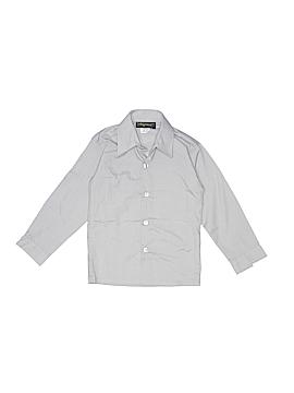 Rafael Long Sleeve Button-Down Shirt Size 4T