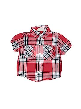 Crazy 8 Short Sleeve Button-Down Shirt Size 6-12 mo