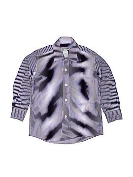 Isaac Mizrahi Long Sleeve Button-Down Shirt Size 4