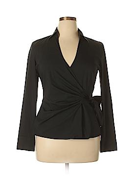 Express Design Studio Long Sleeve Blouse Size L