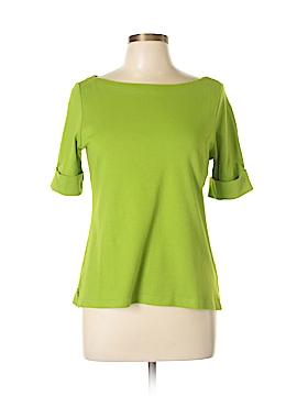 Kim Rogers Short Sleeve Top Size L (Petite)