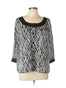 Covington 3/4 Sleeve Blouse Size L
