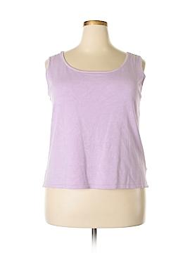 Lauren by Ralph Lauren Sleeveless Silk Top Size 2X (Plus)