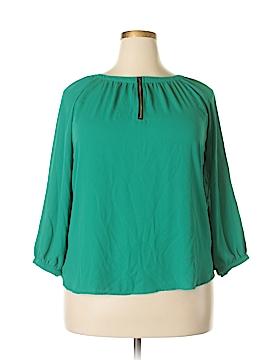 Crescent 3/4 Sleeve Blouse Size XXL