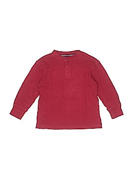 Basic Editions Long Sleeve Henley Size 4 - 5