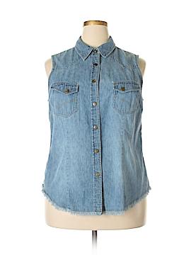 Venezia Denim Vest Size 18 - 20 Plus (Plus)