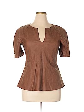 Gracia Faux Leather Top Size L
