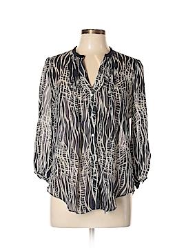 Fei 3/4 Sleeve Silk Top Size 10