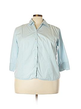 Mountain Lake Long Sleeve Button-Down Shirt Size 2X (Plus)