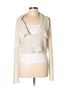 Whitewash Cardigan Size L