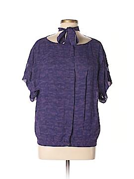 Thakoon Short Sleeve Blouse Size L