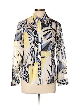 Bianca Long Sleeve Button-Down Shirt Size 12
