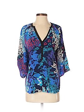 Yumi Kim 3/4 Sleeve Silk Top Size S