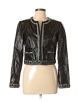 Joseph Ribkoff Faux Leather Jacket Size 10