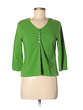 Lana Lee 3/4 Sleeve Henley Size S