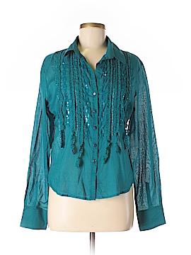 Canyon River Blues Long Sleeve Button-Down Shirt Size XL