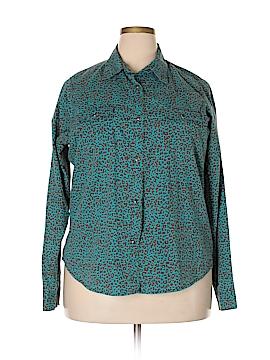 Wrangler Jeans Co Long Sleeve Button-Down Shirt Size XXL