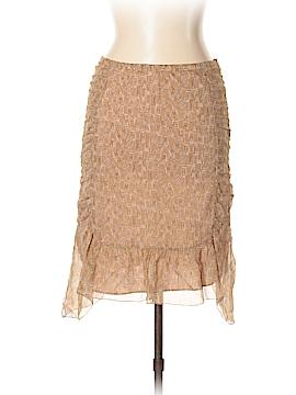 Max Studio Silk Skirt Size 10