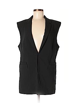 Banana Republic Factory Store Faux Fur Vest Size M