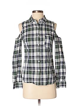 Ali & Kris Long Sleeve Button-Down Shirt Size M