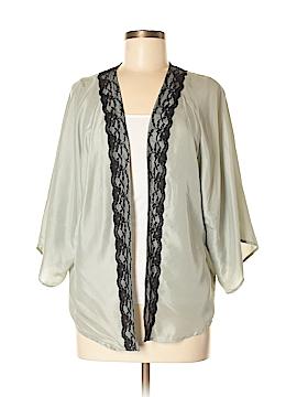Hinge Silk Cardigan Size M