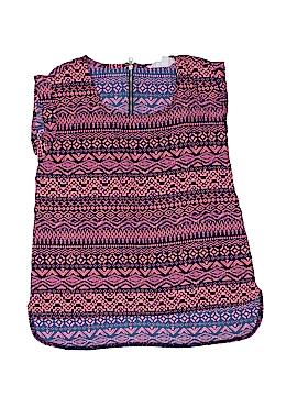 PINK Republic (Heart) Short Sleeve Blouse Size 7 - 8