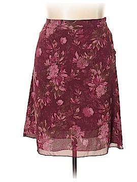 Valerie Stevens Silk Skirt Size 14