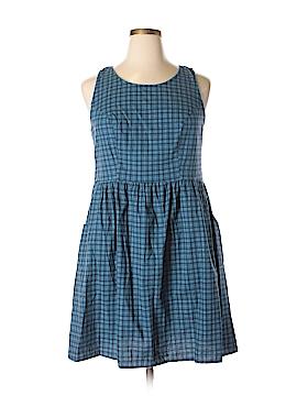 Retrolicious Casual Dress Size 1X (Plus)
