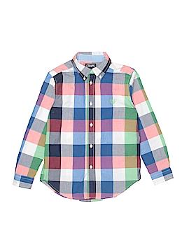 Chaps Long Sleeve Button-Down Shirt Size 7